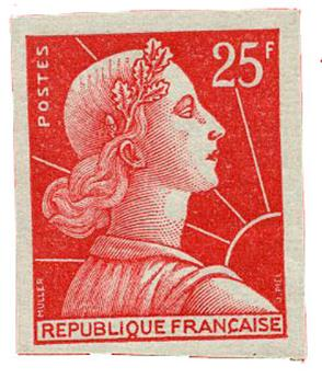 n°1011Ca** - Timbre FRANCE Poste