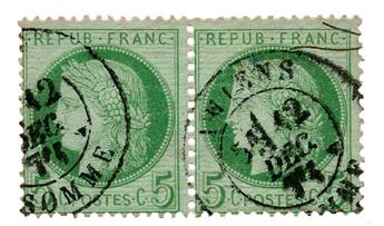 n°53 obl. TB - Timbre FRANCE Poste