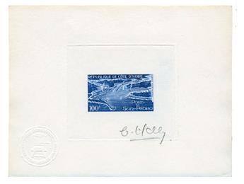 n°49 - Timbre COTE D´IVOIRE Poste Aérienne