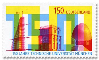 n° 3156 - Timbre ALLEMAGNE FEDERALE Poste