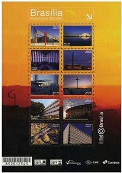 n° 3658/3667 - Timbre BRESIL Poste