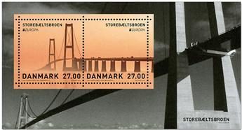 n° F1908 - Timbre DANEMARK Poste (EUROPA)
