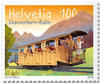 n° 2477 - Timbre SUISSE Poste