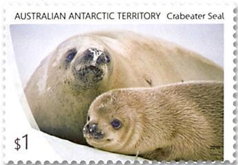 n° 251/254 - Timbre TERRITOIRE ANTARCTIQUE AUSTRALIEN Poste