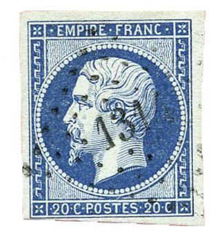 n°14Am obl. TB - Timbre FRANCE Poste