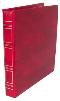 Reliure ABAFIL (Rouge) + 20 RECHARGES Elite model 1  (2 poches)