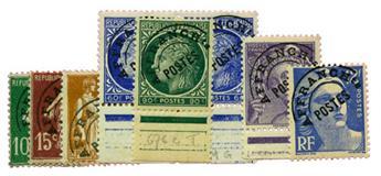 n°51e, 53c, 72b, 87b, 89c, 81b, 103a* - Timbre FRANCE Préoblitérés