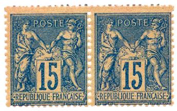 n°90* - Timbre FRANCE Poste