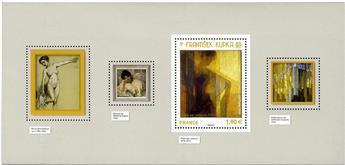 n° 144 - Timbre France Blocs souvenirs
