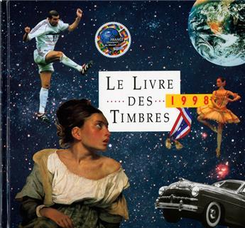 LE LIVRE DES TIMBRE DE L´ANNEE 1998
