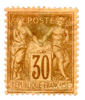 n°80* - Timbre FRANCE Poste