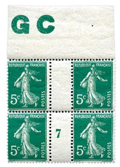 n°137** - Timbre FRANCE Poste