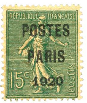 n°25(*) - Timbre FRANCE Préoblitérés
