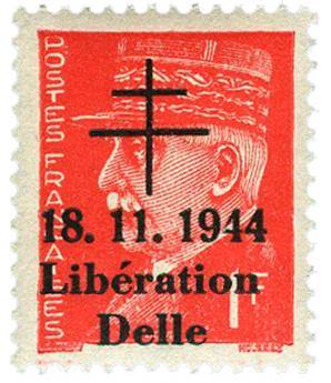 n° 7** (MAYER) - Timbre France Libération (DELLE)