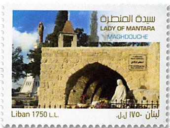 n° 592 - Timbre LIBAN Poste