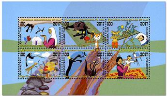 n° 99 - Timbre KAZAKHSTAN Blocs et feuillets