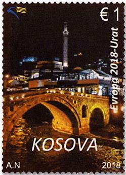 n° 277/278 - Timbre KOSOVO Poste
