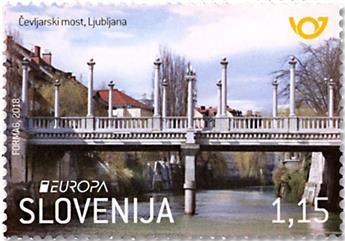 n° 1099/1100 - Timbre SLOVENIE Poste (EUROPA)