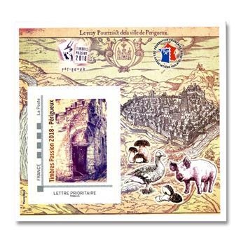 nr. 12 -  Stamp France FFAP Stamp