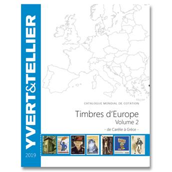 EUROPE Volume 2 - 2019 (Catalogue des timbres des pays d´Europe de C à G)