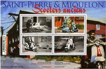 n° F1205 - Timbre Saint-Pierre et Miquelon Poste