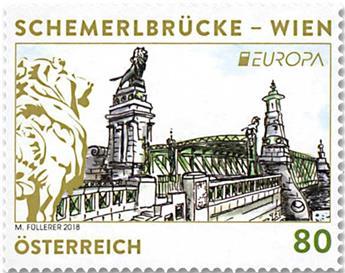 n° 3217 - Timbre AUTRICHE Poste (EUROPA)