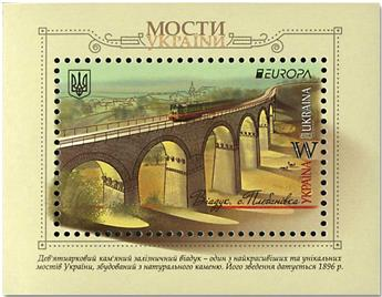 n° 141/142 - Timbre UKRAINE Blocs et feuillets (EUROPA)