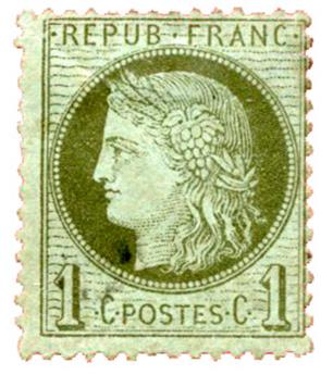 n°50* - Timbre FRANCE Poste