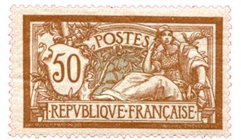 n°120* - Timbre FRANCE Poste