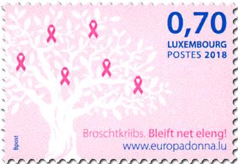 n° 2118 - Timbre LUXEMBOURG Poste