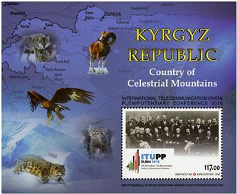 n° 81 - Timbre KIRGHIZISTAN (Poste Kirghize) Blocs et feuillets