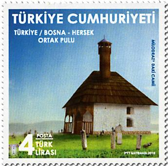 n° 3907 - Timbre TURQUIE Poste