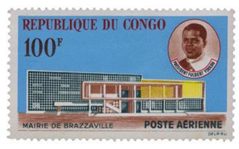 n°11** - Timbre CONGO Poste Aérienne