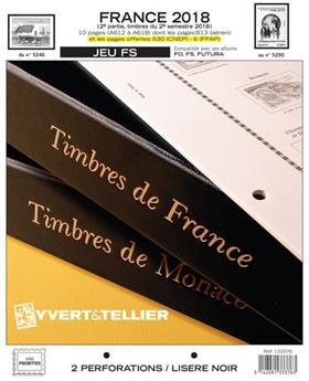 FRANCE FS : 2018 - 2EME SEMESTRE (jeux sans pochettes)