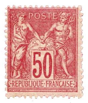 n°98** - Timbre France Poste