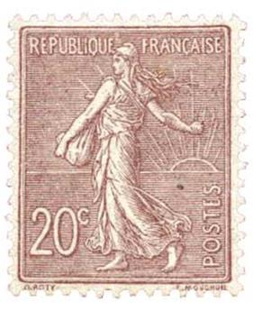 n°131** - Timbre France Poste