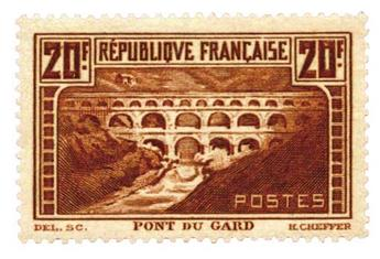 n°262d** - Timbre France Poste
