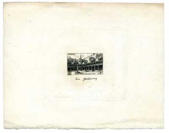 n°499 - Timbre France Epreuve d´atelier