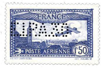 n°6c** - Timbre France Poste aérienne