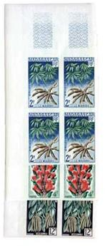 n°332/334** - Timbre Madagascar Poste