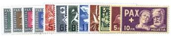 n°405/417* - Timbre Suisse Poste