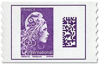 n° 1656 - Timbre France Autoadhésifs