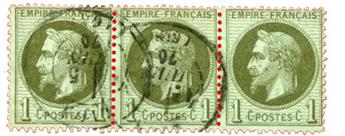 n°25 obl. TB - Timbre FRANCE Poste
