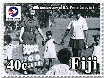 n° 1350/1353 - Timbre FIDJI Poste