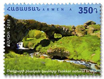 n° 919 - Timbre ARMENIE Poste (EUROPA)