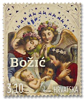 n° 1239 - Timbre CROATIE Poste