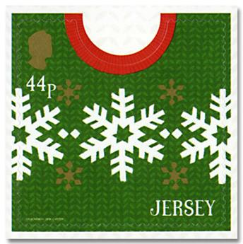n° 2350/2357 - Timbre JERSEY Poste