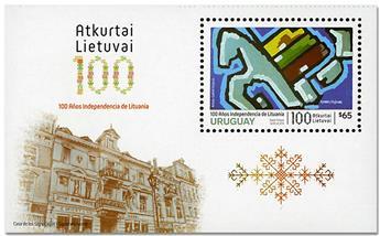 n° 123 - Timbre URUGUAY Blocs et feuillets