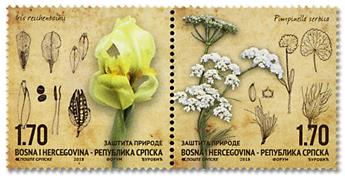n° 698/699 - Timbre REPUBLIQUE SERBE (DE BOSNIE) Poste