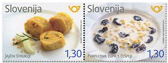 n° 1117/1118 - Timbre SLOVENIE Poste
